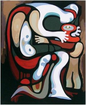 Maternidad, de Augusto Marín