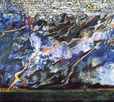 Tormenta de la Pampa, de Luis Felipe Noé