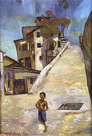 La calle, de Rafael Tufiño