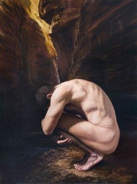 Estados del alma, encerrado en sí mismo, de Javier Arizabalo García