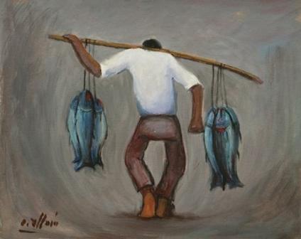 Pescador, de Oscar Allain