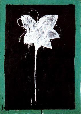 Flor blanca, de Joan Hernández Pijoan
