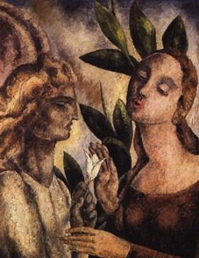 La Anunciación, de Alfredo Guttero