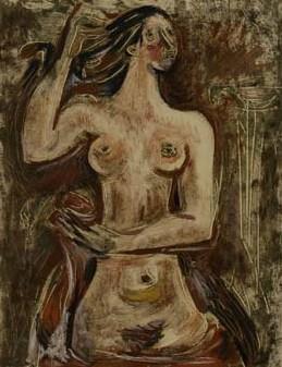 Desnudo, de Alfredo Bigatti