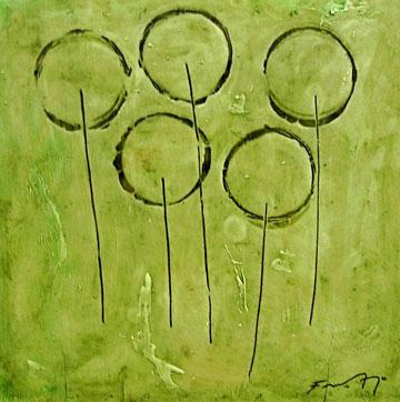 Flores 4, de Francisco Arroyo Ceballos