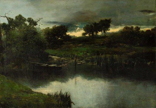 Paisaje, de Ovidio Murguía