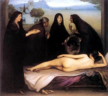 El pecado, de Julio Romero de Torres