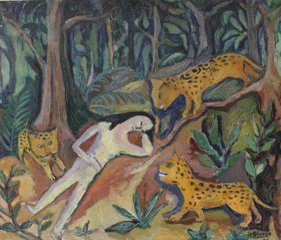 La mujer de los tres tigres, de Cota Carvallo
