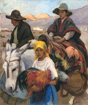 A la feria, de Jorge Bermúdez