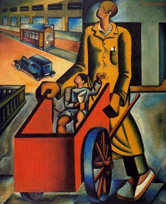 El chico de la carretilla, de Joan Sandalinas