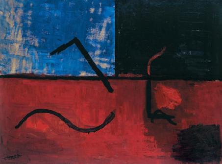 Composición III, de Gustavo Serra