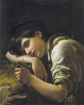 El joven jardinero, de Orest Kiprensky