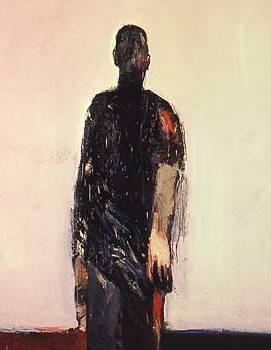 Hombre caminando, de Nathan Oliveira