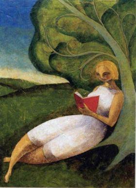 Leyendo bajo el árbol, de Carlos Laínez