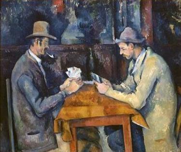 Jugadores de cartas, de Paul Cézanne