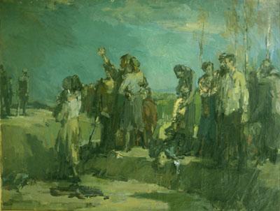 Ejecución en Babiy Yar, de Felix Lembersky