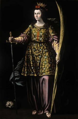 Santa Catalina de Alejandría, de Antonio Vela Cobo