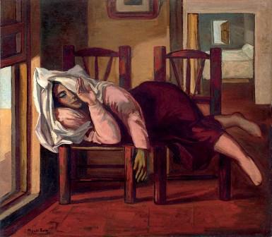 La siesta / La soledad, de Miguel Prieto