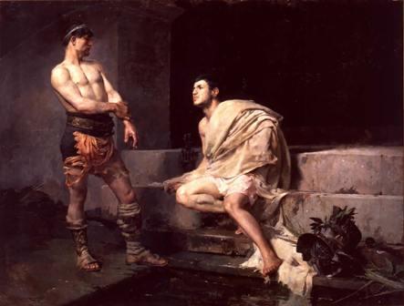 Los gladiadores, de José Moreno Carbonero