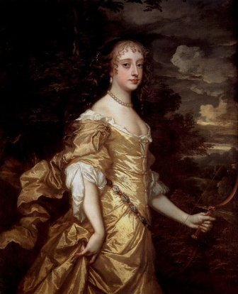 Frances Teresa Stuart, Duquesa de Richmond y Lennox, de Sir Peter Lely