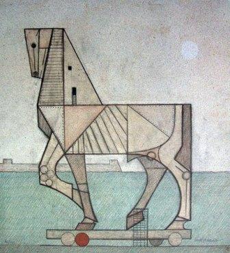 Caballo de Troya, de Josep Maria Subirachs
