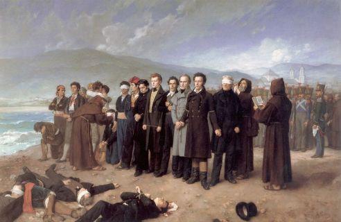 El fusilamiento de Torrijos, de Antonio Gisbert