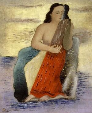 Mujer frente al mar, de Francisco Gutiérrez