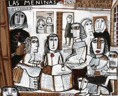 Las Meninas y un servidor, de Eleazar
