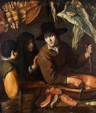 La vendedora de pescado, de Juan van der Hamen