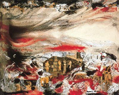 Collage de la serie El mundo roto, de Romà Vallés