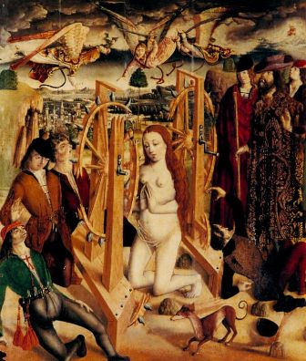 Martirio de Santa Catalina, de Fernando de Gallego