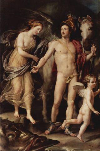 Perseo y Andrómeda, de Anton Raphael Mengs