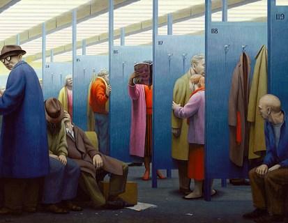 La sala de espera, de George Tooker