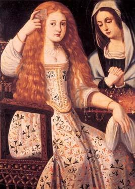 Retrato de La Calderona, anónimo