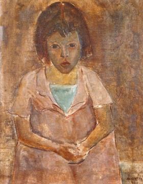 Niña triste y enferma, de José Pancetti