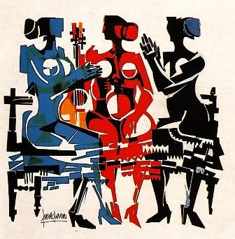 Las tres gracias del flamenco, de Antonio Povedano