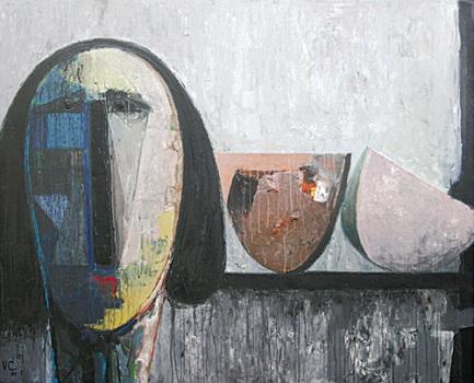 Cabeza y sandía, de Vladimir Cora