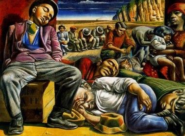 Desocupados, de Antonio Berni