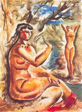 Bañistas, de Lino Enea Spilimbergo