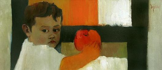 Retrato de mi hijo Sergio, de Samuel Muñoz