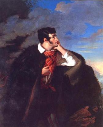 Retrato de Adam Mickiewicz, de Walenty Wankowicz