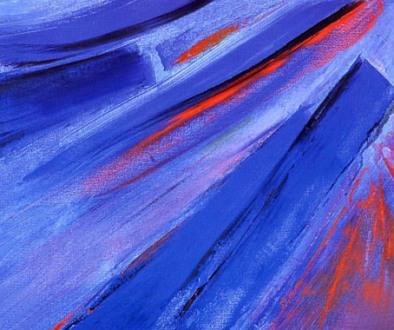 Azul diagonal, de Eduardo Moll
