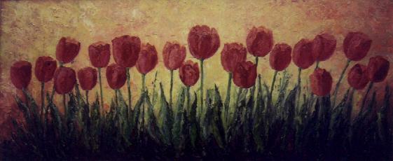 Tulipanes, de Mónica Frachia