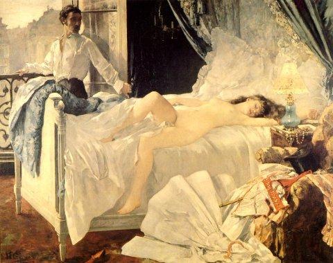 Rolla, de Henri Gervex (cuadro inspirado en el poema narrativo homónimo de Musset)