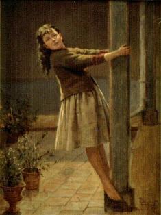 La niña de la columna, de Ricardo Acevedo Bernal
