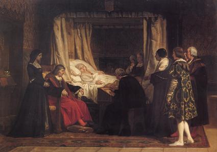 El testamento de Isabel la Católica, de Eduardo Rosales
