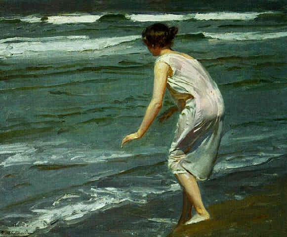 En la orilla, de Benito Rebolledo Correa