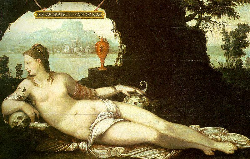 Eva Prima Pandora, de Jean Cousin, el mayor