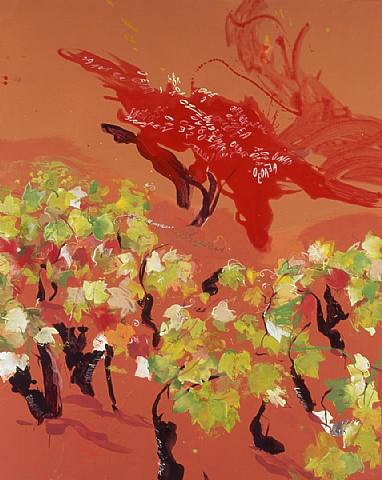 Árbol rojo, de Regina Saura