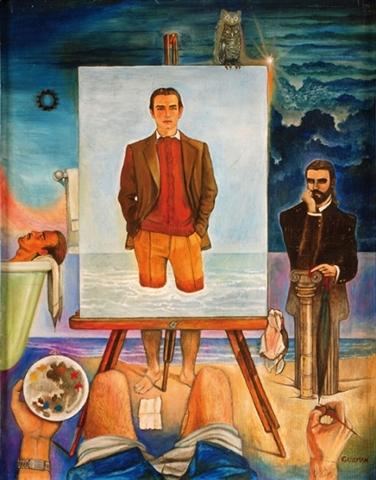 Autorretrato, de Enrique Guzmán